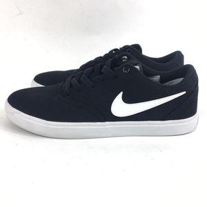 cf1cd52ee3da Nike Shoes - Size 8.5 Nike SB Solar Check Black Canvas Shoe